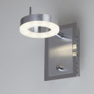 Светодиодный настенный светильник с поворотными плафонами 20001/1 алюминий