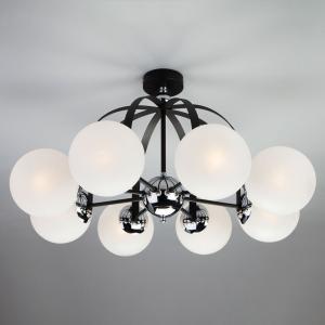 Потолочная люстра в стиле лофт 70082/8 хром/черный