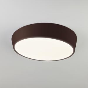 Потолочный светодиодный светильник с пультом 90113/1 коричневый