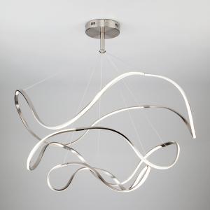 Светодиодный подвесной светильник 90109/3 сатин-никель