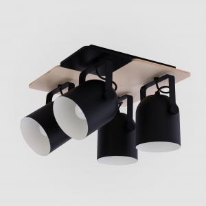 Потолочный светильник с поворотными плафонами 2632 Spectro Black