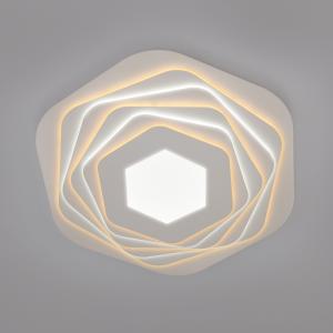 Светодиодный потолочный светильник с пультом управления 90152/6 белый