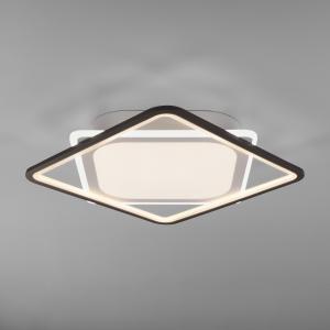 Потолочный светодиодный светильник с пультом управления 90157/1 белый
