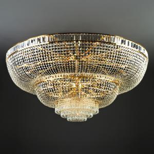 Потолочная хрустальная люстра большого диаметра 360 Strotskis