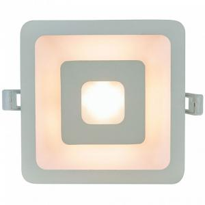 Встраиваемый светильник Arte Lamp Canopo A7245PL-2WH/UC 150-648