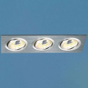 Алюминиевый точечный светильник Elektrostandard 1011/3 MR16 CH хром 4690389055843 105-557
