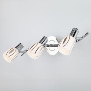 Настенный светильник 20113/3 хром