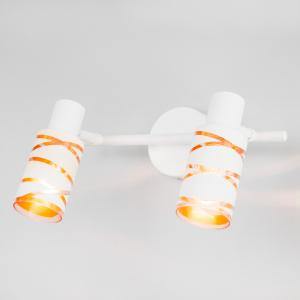 Настенный светильник с поворотным плафоном 20085/2 белый