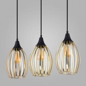 Подвесной светильник в стиле лофт 2817 Liza Gold