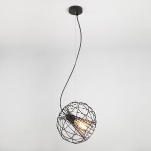Подвесной светильник в стиле лофт 50060/1 черный