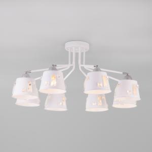 Потолочная люстра с поворотными рожками 70105/8 белый