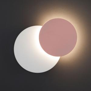 Настенный светодиодный светильник 40135/1 белый/розовый